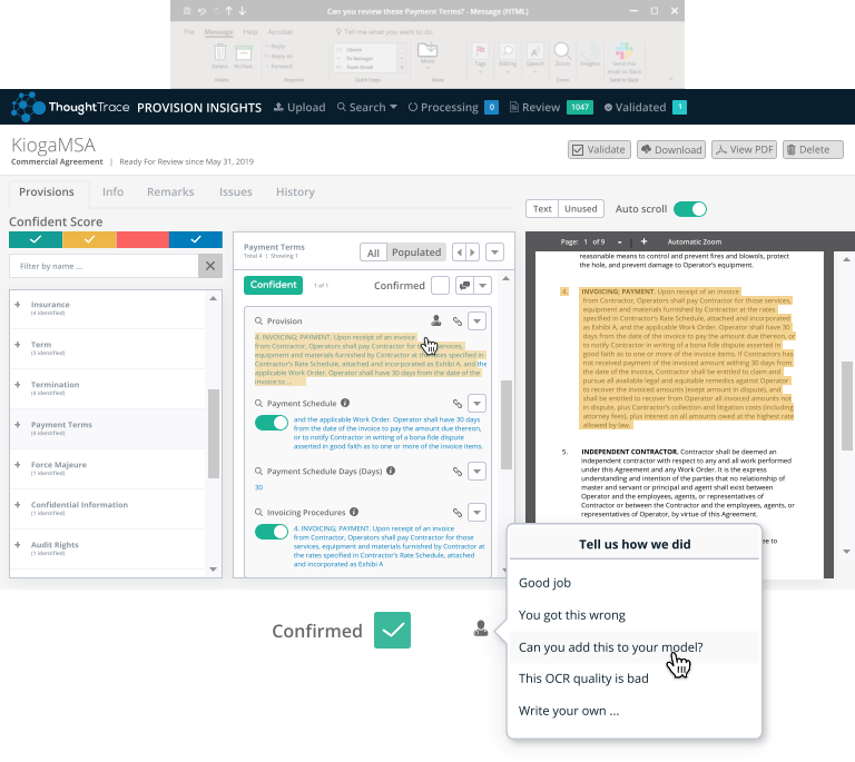 Review, Validate, and Collaborate