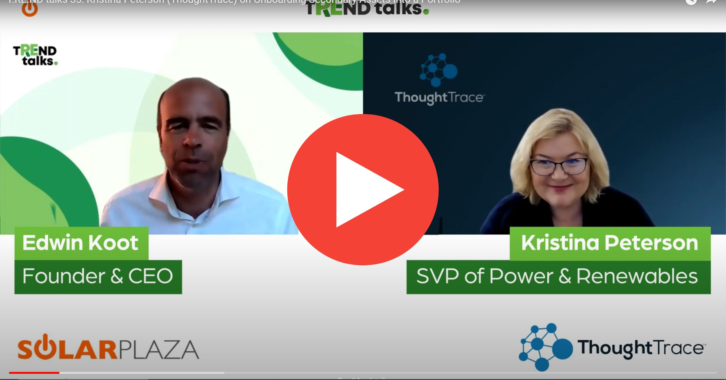Solarplaza Trend Talks with ThoughtTrace